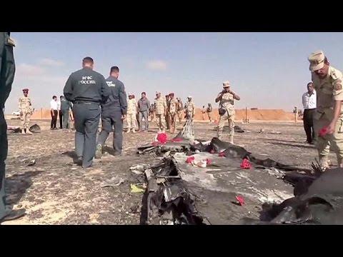 Αίγυπτος: Ανοιχτά όλα τα ενδεχόμενα για τη συντριβή του ρωσικού Airbus