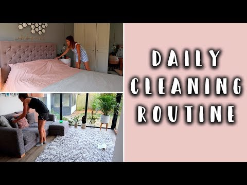 DAILY CLEANING ROUTINE/ EVERY DAY CLEANING ROUTINE