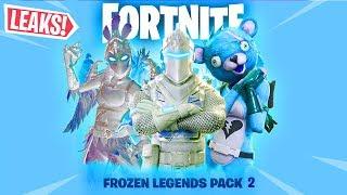 *NEW* Frozen Legends 2 Skins! Frozen Black Knight Skin and Frozen Renegade Raider Skins!