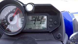 6. Yamaha YXZ1000R Speed Run at 95 MPH on dirt.