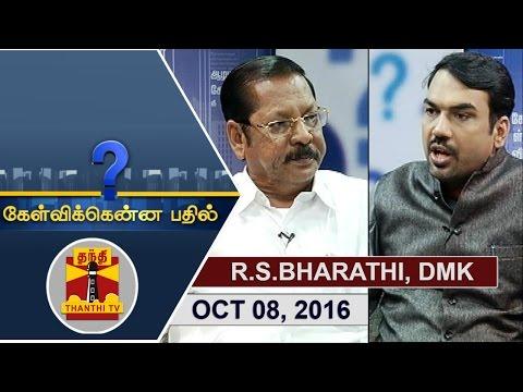 -08-10-2016-Kelvikkenna-Bathil-Exclusive-Interview-with-R-S-Bharathi-MP-DMK-Thanthi-TV