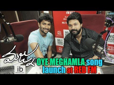 Majnu Oye Meghamla song launch at Red FM 93.5