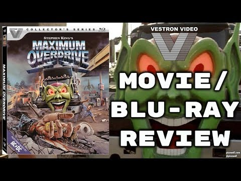 MAXIMUM OVERDRIVE (1986) - Blu-ray Review (Vestron Collector's Series)
