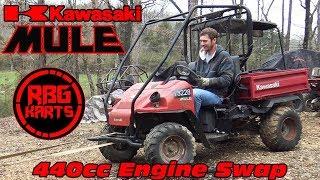 10. Kawasaki Mule 440cc Engine Swap Ep1