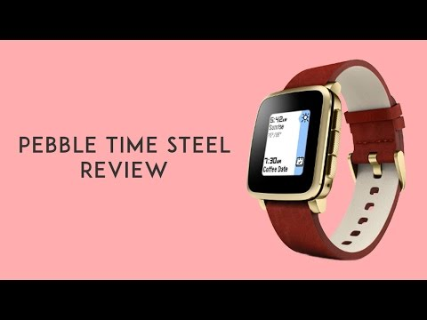 Pebble Time Steel Watch Video Review