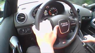Audi A3 Cabriolet 2.0 2009 Review - THE UK CAR REVIEWS Funny Road Test Drive - The UK Car Reviews.