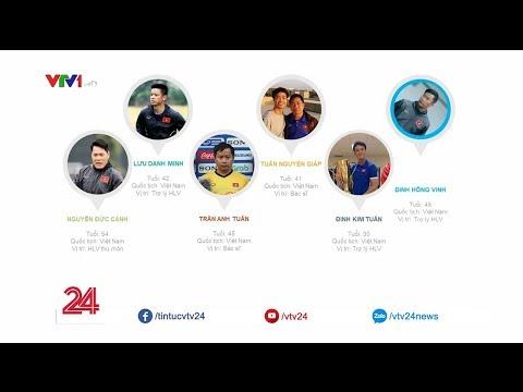 10 trợ lý của HLV Park Hang Seo | VTV24 - Thời lượng: 1:37.
