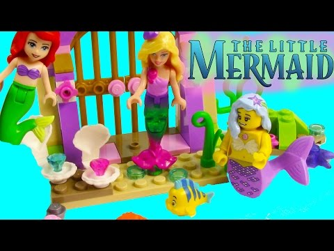 Little - SUBSCRIBE: http://www.youtube.com/channel/UCelMeixAOTs2OQAAi9wU8-g?sub_confirmation=1 Build n Play with Ariel and Flounder from Disney's The Little Mermaid LEGO Amazing Treasures ...
