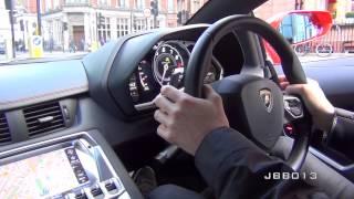 Video Crazy Lamborghini Aventador Ride - Brutal Accelerations, Downshifts and Revs in the City MP3, 3GP, MP4, WEBM, AVI, FLV November 2017