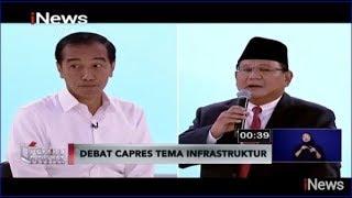 Video Proyek Infrastruktur Dituding Tak Efisien, Jokowi Beri Lirikan Maut ke Prabowo - Pemilu Rakyat 17/02 MP3, 3GP, MP4, WEBM, AVI, FLV Februari 2019