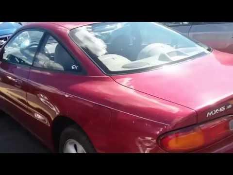 1993 Mazda MX-6 (2.5L V6 5-spd. manual) walkaround and review