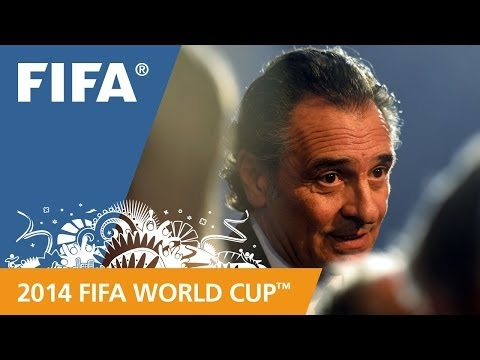 FINAL - Italy coach Cesare Prandelli speaks about his team's draw for the 2014 FIFA World Cup™. More videos about the 2014 FIFA World Cup™ Final Draw: http://www.you...