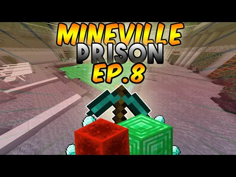MINECRAFT MineVille PRISON EP. 8 WE HAVE ESCAPED AND BROKE FREE!! (XBOX ONE EDITION)