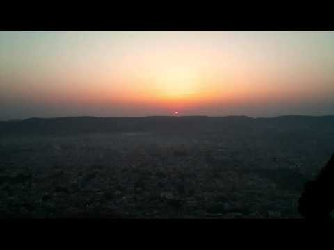 Sunrise from Nahargarh Fort Jaipur Rajasthan