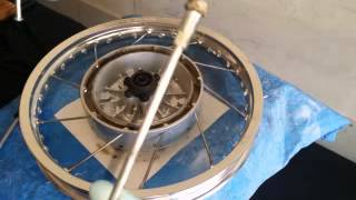 10. Ural Wheel & Spoke Installation