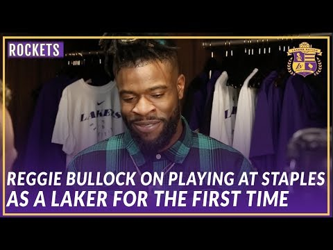 Video: Lakers Post Game: Reggie Bullock On His First Game At Staples As a Laker