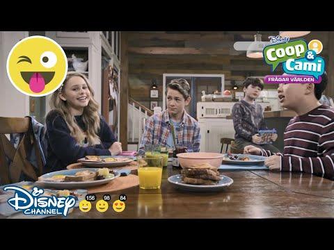 Coop och Cami Frågar Världen | Frukostlåten | Disney Channel Sverige