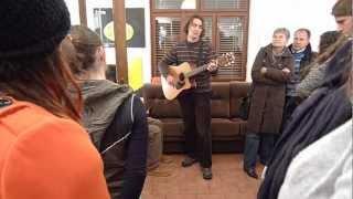 Video Tom Edl ** 22*23*24*25 ** vernisáž v galerii Watzko ** hudba Wor