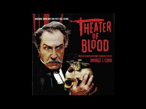 Theater Of Blood (1973) Original Motion Picture Soundtrack By Michael J. Lewis