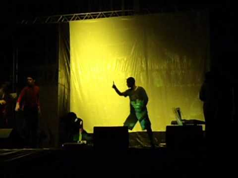 Peça apresentada pelos jovens da Central de Lagarto em Gararu 2010 1