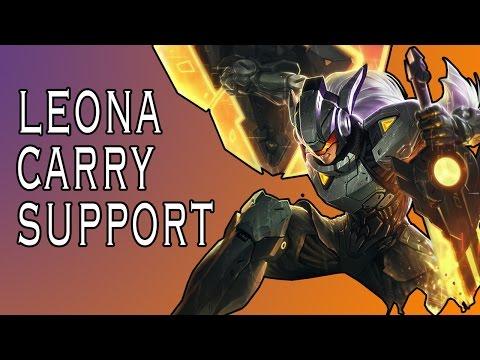 Những pha xử lý hay của Leona ở vị trí support