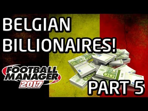 FM17 Experiment: What If Belgium Had A £1.6bn TV Deal? PART 5