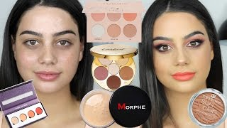 Video FULL FACE OF FIRST IMPRESSIONS MAKEUP TUTORIAL! MP3, 3GP, MP4, WEBM, AVI, FLV Maret 2019