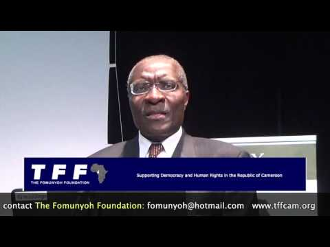 GLOFEX 2016 - Dr Christopher Fomunyoh's Closing Re