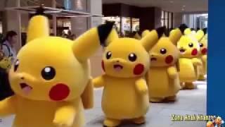 Naik Kereta Api Lagu Anak Pokemon Pikachu