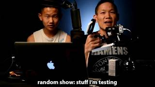 stuff I'm testing: from mics, to pit-sticks: http://bit.ly/170713rndmshwMore chineSecrets: http://chineSecrets.comLearn to Livestream: http://livestreamgeek.com--- HOW TO SUPPORT THE SHOW ---Thanks for watching!   If you like what you've seen and would like to help us create more videos like this, we'd love for you to start your online shopping off with the links below. As affiliates we get a small percentage of qualifying purchases but rest assured you won't pay a cent more than buying it elsewhere on the world-wide-web. Every purchase helps no matter how big or small, so THANK YOU for starting your shopping off with our links! Amazon.com - http://amzn.to/2nYarYCAmazon.ca - http://amzn.to/2nMREPuAmazon.co.uk - http://amzn.to/2oMaILoB&H Photo - https://bhpho.to/2ooyxNfAdorama - http://bit.ly/1EGcfqWEbay - http://ebay.to/2oMgMDLIf you love what you've seen and want to contribute towards the show on a monthly basis, please consider becoming a Patron here:  https://www.patreon.com/chineSecretsFor more laughs, learning and love visit our home on the web at http://notsoancientchinesecrets.comFor more Behind the Scenes and to start a conversation:Facebook: http://facebook.com/chineSecretsInstagram: http://instagram.com/chinesecretsTwitter: http://twitter.com/chinesecretsGod bless, and see you in the next video :)Multistreaming with https://restream.io/