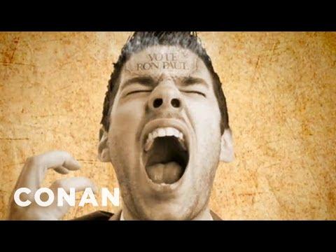 Conan - Ron Paul Campaign Ad - Ron Bless America