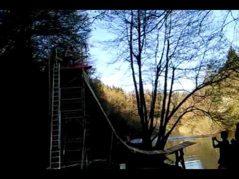 Extreme kayaking, Krka river  Slovenia