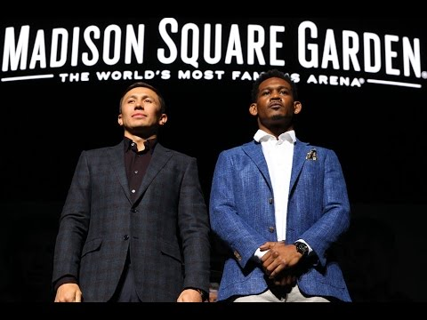 Golovkin v Jacobs final press conference