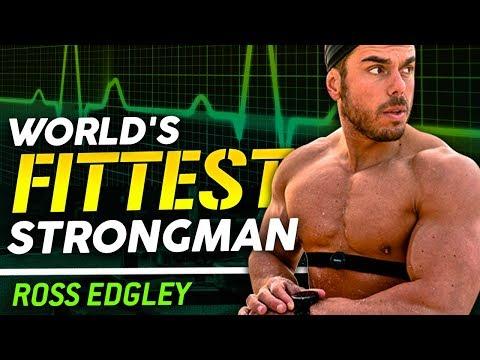 ROSS EDGLEY - WORLD'S FITTEST STRONGMAN | London Real (видео)