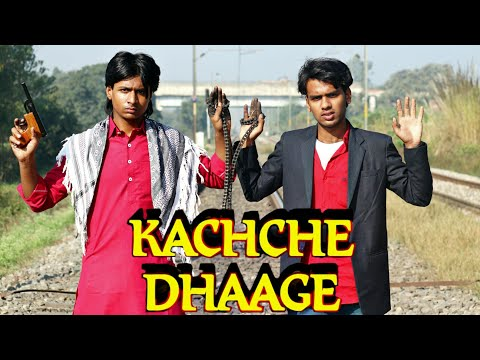 Kachche dhaage (1999) | Ajay devgan | Saif Ali Khan | kachche dhaage movie best scene | Ajay running