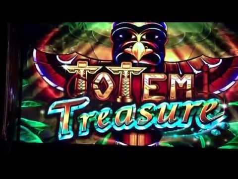 Totem Treasure Slot Bonus BIG WIN - Ainsworth