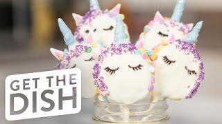 Unicorn Oreo Pops | Get the Dish by POPSUGAR Food
