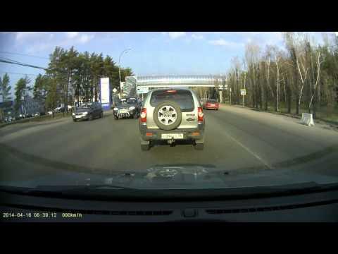 Авария в Воронеже на проспекте Патриотов 16 04 2014