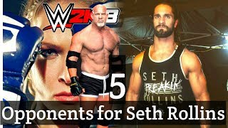 5 Possible WrestleMania Opponents for Seth Rollins - WrestletalkTV - wwe update news
