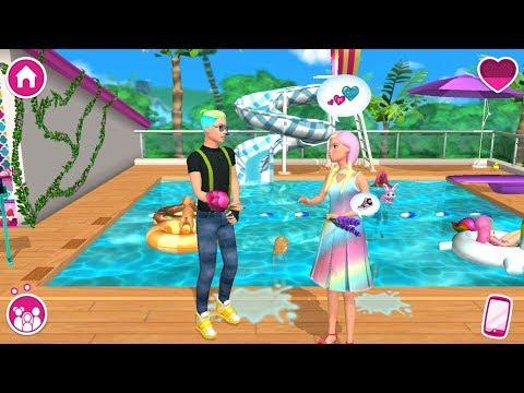 Barbie Dreamhouse Adventures - Barbie & Ken Dress Up, Spa - Simulation Game