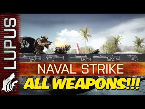 Battlefield 4 | Naval Strike Weapons and Gadgets!