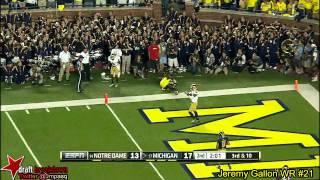 Jeremy Gallon vs Notre Dame (2013)