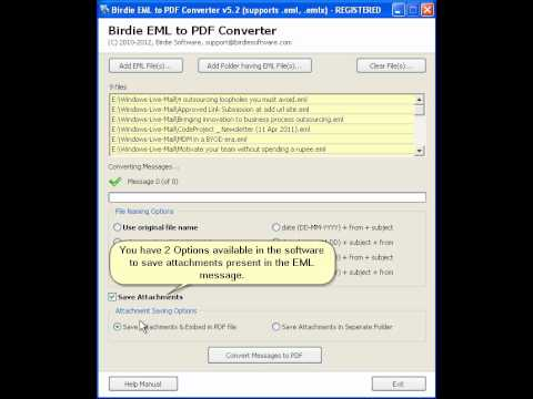 comment ouvrir fichier eml