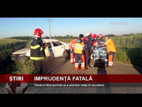 Accident mortal, în județul Ialomița
