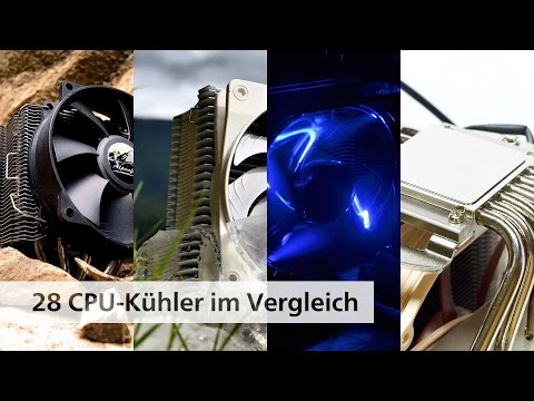 Der große CPU-Kühler-Vergleich 2015/2016 [Deutsch]