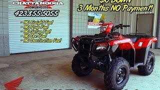 10. 2016 Honda RUBICON 500 DCT ATV For Sale - TN / GA / AL area PowerSports : Honda of Chattanooga