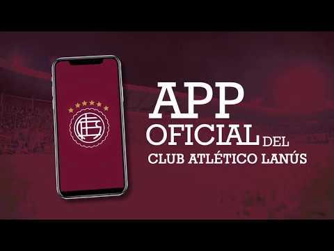 ¡Ya está disponible la  nueva app del Club Atlético Lanús!