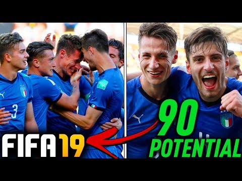 THE ITALY U20 WORLD CUP WONDERKIDS TEAM IN FIFA 19 Career Mode!!!