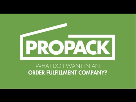 What Do I Want In An Order Fulfillment Company?