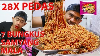 Video TRAGIS!!! MUKBANG 7 PACKS SAMYANG MALA SUPER PEDAS | 28X LEBIH PEDAS MP3, 3GP, MP4, WEBM, AVI, FLV Mei 2018